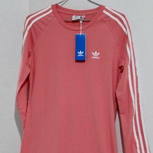 NWT Adidas Pink Trefoil Dress (Junior Sizing M)